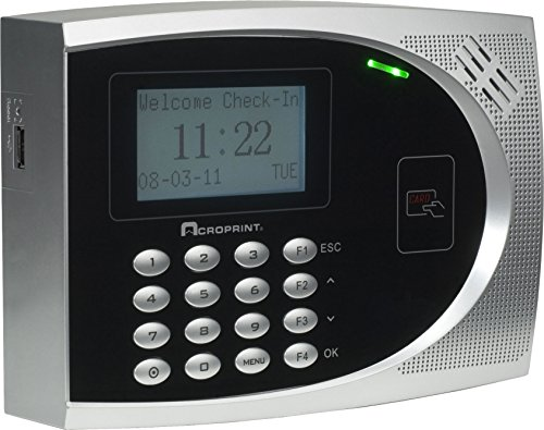 Acroprint timeQplus Proximity Time and Attendance System Time Clock