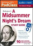 img - for McGraw-Hill's PodClass A Midsummer Night's Dream Study Guide (MP3 Disk) book / textbook / text book