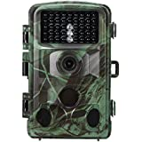 Lixada 12MP 1080P Trail and Game Hunting Camera Outdoor Waterproof Wildlife Scouting Camera Video Recorder for Security Farm