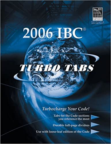 Turbo Tabs for ICCs 2006 International Building Code (International Code Council Series) 1st Edition