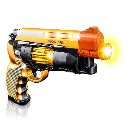 Blade Runner Airsoft Toy Pistol by ArtCreativity Toy Gun for Kids with LED and Sound Effects, Design, Batteries Included, Sturdy Plastic Design, Great Gift Idea for Girl/Boy (1 -