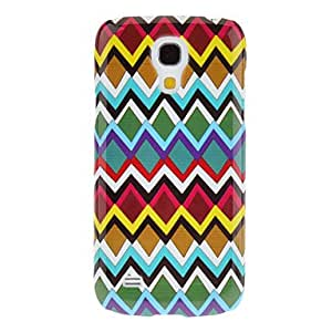 GDW Teléfono Móvil Samsung - Cobertor Posterior - Gráfico - para Samsung S4 Mini I9190 ( Multi-color , Plástico )