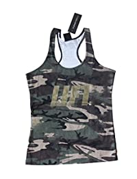 Women's Camo Lift tank top for Crossfit Fitness Bodybuilding Running Workout Zumba ladies