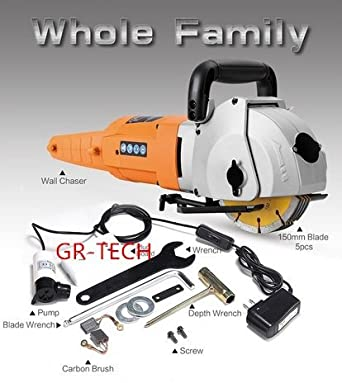 gr-tech Instrumento® 5200 W Industrial pared Chaser Lavadora ...