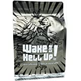 Wake The Hell Up! Ultra Caffeinated Dark Roast Ground Coffee 12 Ounce