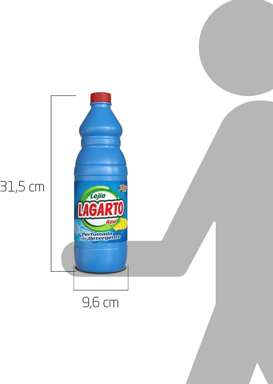 Lagarto Lejía Perfumada y Detergente - 1500 ml, 1 unidad: Amazon.es: Productos para mascotas