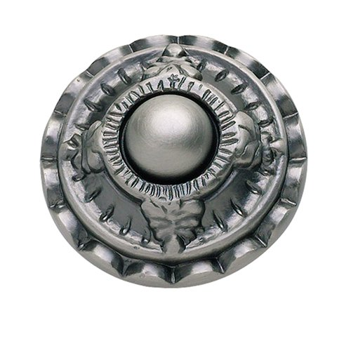Atlas Homewares 4005-P 1-1/2-Inch The Classics Collection St Michel Knob, (Pewter Classic Metal Lever)