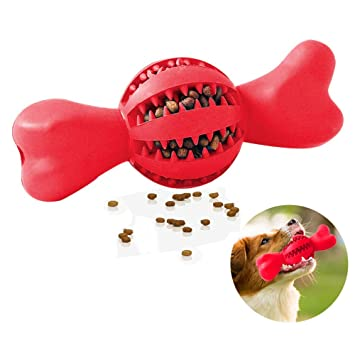 Cepillo de Dientes Perro Palo Juguete para Masticar Limpiador Dientes Perros Perros Regalo para el Amante de Las Mascotas,Red: Amazon.es: Hogar
