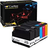 Cartlee Set of 5 Compatible 711 711XL High Yield Ink Cartridges for Designjet T120 T520 Printers