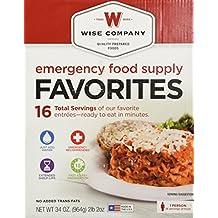 Wise Foods Emergency Food Supply Favorites (Box Kit)