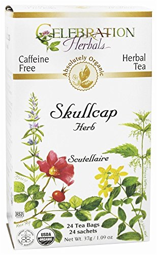 Celebration Herbals Organic Skullcap Herbal