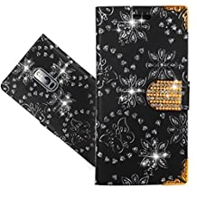 Oneplus 2 / OnePlus TWO Case, FoneExpert® Bling Luxury Diamond Leather Kickstand Flip Wallet Bag Case Cover For Oneplus 2 / OnePlus TWO