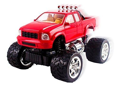 Vokodo Off-Road Series 1:20 Scale Mini Remote Control Truck, Red