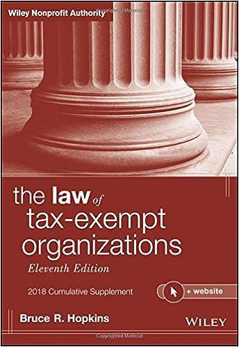 Book The Law of Tax-Exempt Organizations, 2018 Cumulative Supplement, + Website