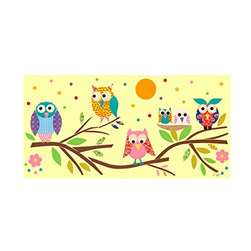 Oopsy Daisy Owls on Branch Canvas Art by Oopsy Daisy