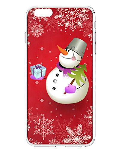 iphone-6s-plus-back-case-ukase-snowman-on-red-background-for-55-inch-apple-phone-6-plus-2014-version
