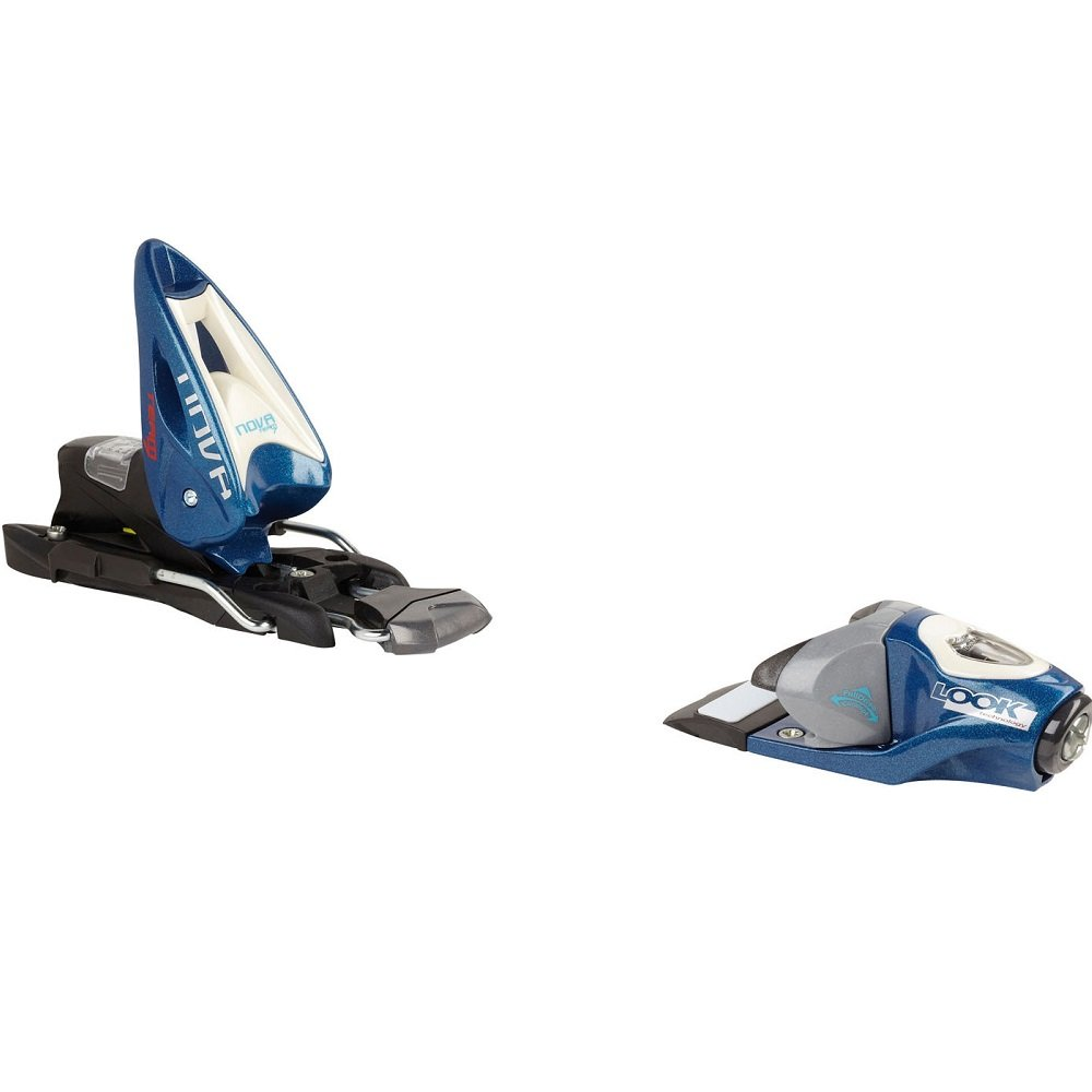 Look Nova Team 7 Ski Binding - Kids' Blue, One Size by Look