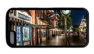 Hipster for iphone 6 4.7 case make disneyland main street TPU Black for Apple for iphone 6 4.7