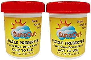 product image for SunsOut Puzzle Preserver Glue 2-Pack
