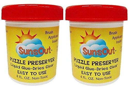 Sunsout Puzzle Preserver Glue (2-Pack)