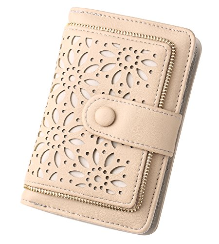 Women RFID Blocking Vintage Organizer Wallet for Ladies Small Purse with Multi Card Holder by Fanaztee (Image #6)