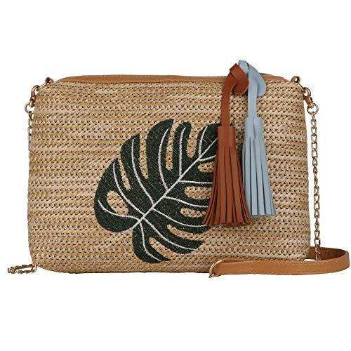 Straw Crossbody Bag Handbags Straw Bag Weave Shoulder Beach Bag