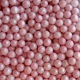 Sugar Pearls 3-4 mm Pearlized Pink, 16 Oz.
