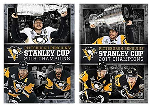 Pittsburgh Penguins: 2016 & 2017 Stanley Cup Champions DVD Set