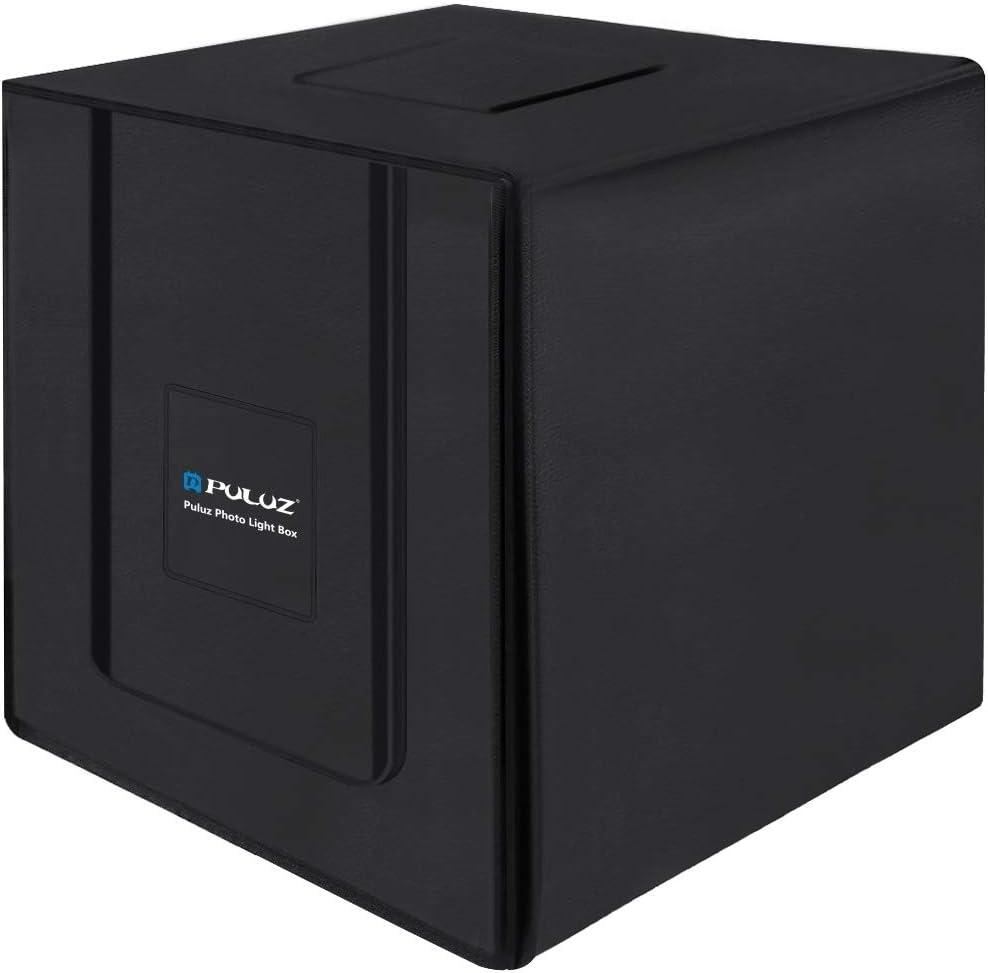 Durable Color : Color4 80cm Folding Portable 80W 8500LM White Light Photo Lighting Studio Shooting Tent Box Kit with 3 Colors Backdrops Black, White, Orange