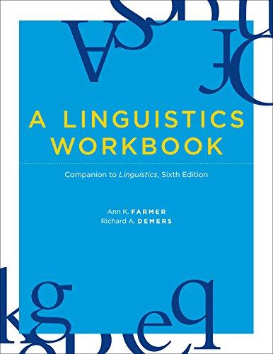 A Linguistics Workbook: Companion to Linguistics, Sixth Edition (The MIT  Press) See more Workbook Edition
