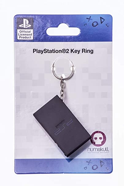 PlayStation 2 Console Keyring