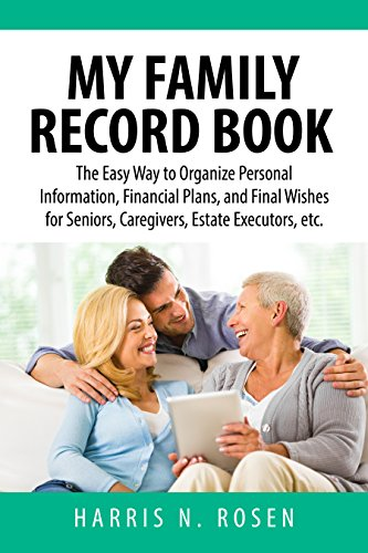 amazon com my family record book the easy way to organize personal
