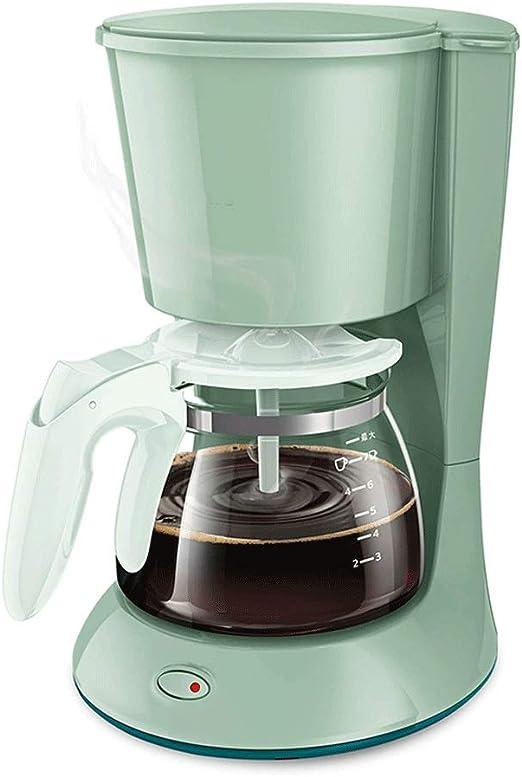 Nologo ZDC Compacto de la máquina de café, Acero Inoxidable Filtro Cafetera con Minuto de preparación del café, 650 W, Anti-Goteo del Sistema, Filtro Reutilizable Permanente, Negro,Conveniente: Amazon.es: Hogar