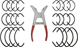 Fulton Woodworking Tools 608 Spring Miter Clamp Set By Peachtree Woodworking Pw608