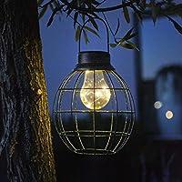 Luxform Farol Solar LED Jardín Tango Verde Bombilla Lámpara Luces Iluminación. Cargando imágenes.