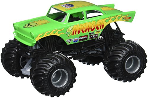 Hot Wheels Monster Jam Avenger Vehicle (Wheels Truck 1 Hot Monster 24)