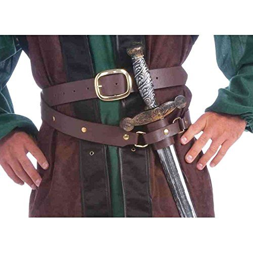 Medieval Belt and Scabard Combo ()