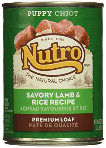 Nutro Puppy - Lamb & Rice Cans - 12x12.5 oz