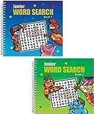 Set Of 2 Spiral Bound Junior Pocket Word Search Books