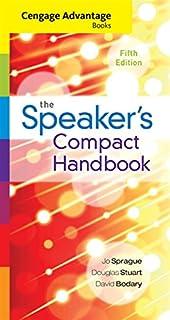 The speakers handbook mindtap course list jo sprague douglas cengage advantage books the speakers compact handbook spiral bound version fandeluxe Gallery