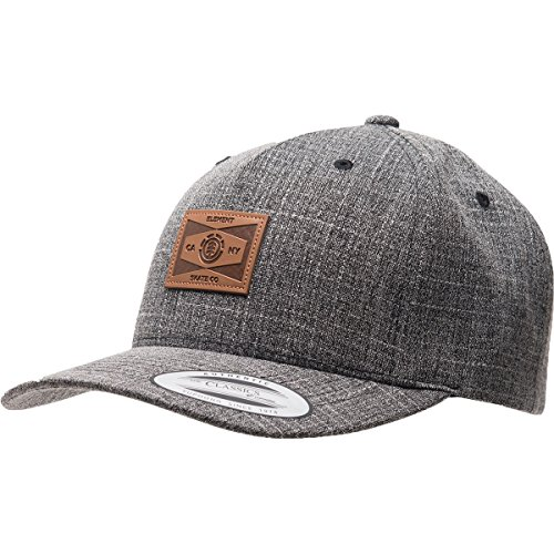 Element Men's Jagger III Cap, Black Grid Heather, ONE
