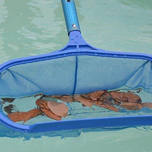 Mizukit swimming pool net pond leaf cleaning skimmer net for Pole house piscine