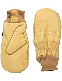 Carhartt mens Insulated Leather Mitt (Knit Cuff)