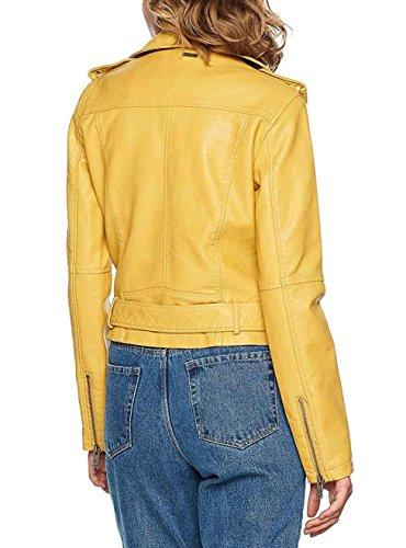 Pepe Jeans Ninel, Chaqueta para Mujer Amarillo