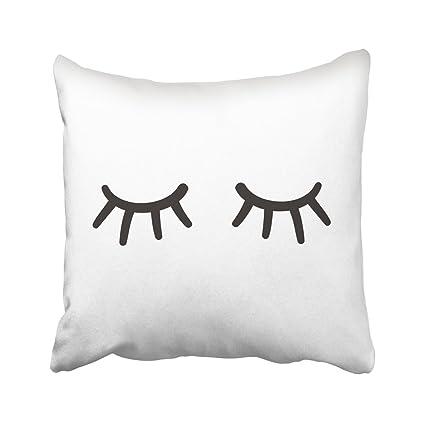 Amazon Com Emvency Decorative Throw Pillow Covers Cases Lash Eyes