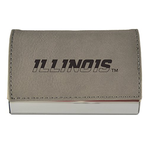 Illinois illini business card holders price compare for Uiuc business cards