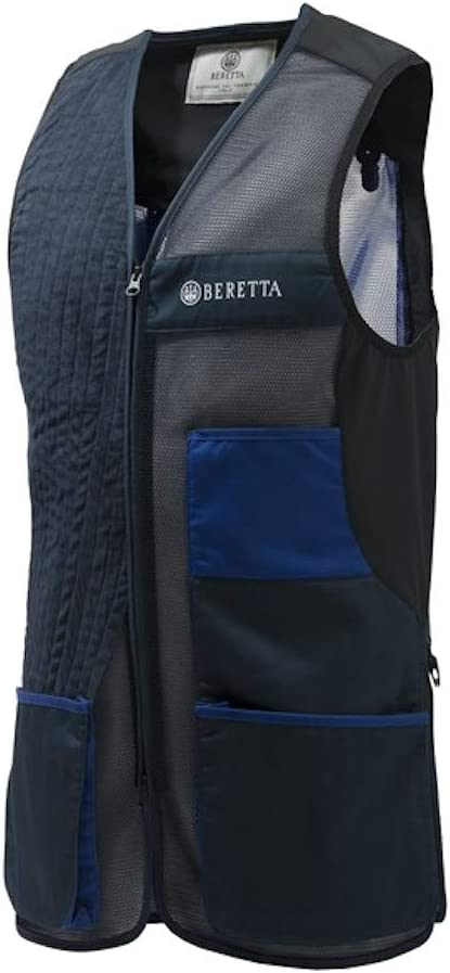 BERETTA GT761 Olympic Shooting Vest In Blue Royal