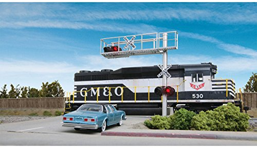 Walthers SceneMaster Modern Single-Lane Cantilever Grade Crossing Signal