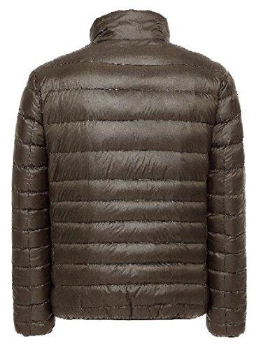 Army Concise Men's Coats Gocgt Fashion Green Down Warm Lightweight Jacket E8pZ6pqT