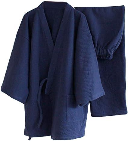 stile giapponese Abito da uomo pi/ù spesso pigiama kimono caldo Fancy Pumpkin invernale